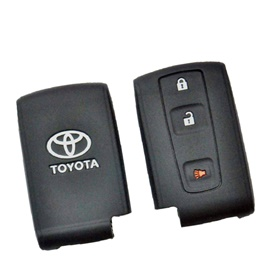Toyota Prius Key cover PVC / Silicone Protection Key Cover Model 2016 - 2017 | Full Cover Remote Case Keyless Protector Jacket | Silicone Key Case-SehgalMotors.Pk