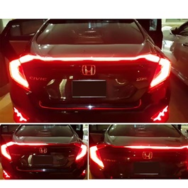 Honda Civic Sequential Back lights With Spoiler - Model 2016-2020-SehgalMotors.Pk