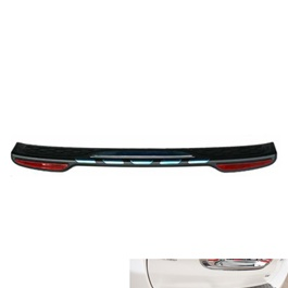 Toyota Corolla Trunk Bumper Protector With Reflector - Model 2017-2020-SehgalMotors.Pk
