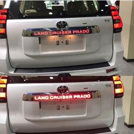 Toyota Land Cruiser Prado Rear LED Trunk Lid Cover Garnish-SehgalMotors.Pk