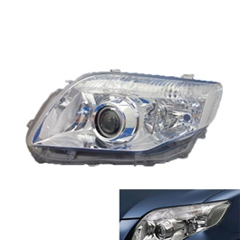 Toyota Corolla Axio Headlight / Head Lamp Crystal Right Side - Model 2006-2012-SehgalMotors.Pk