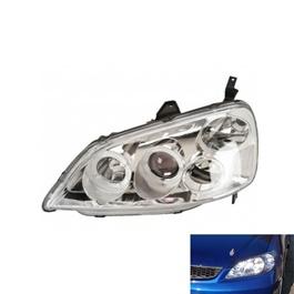Honda Civic Headlight / Head Lamp Crystal - Model 2001-2004-SehgalMotors.Pk