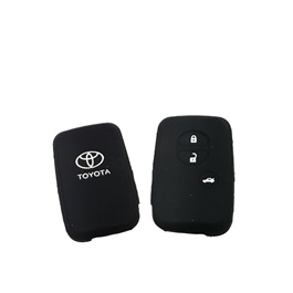 Toyota Land Cruiser PVC / Silicone Protection Key Cover - Model 2015-2017