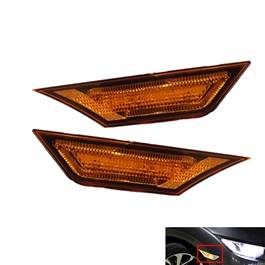 Honda Civic Side Fender Marker Lamp Type R Style Yellow - Model 2016-2020-SehgalMotors.Pk