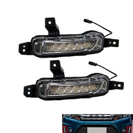 Suzuki Vitara Front LED DRL - Model 2016-2020 | Drl | Running Lights For Car | Car lamp | Car Fog Lamp Waterproof | Led Car Lights Exterior Drl-SehgalMotors.Pk