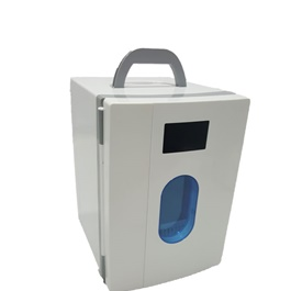 Portable Small White Door Fridge With Handle 10 Liters - Code 14360-SehgalMotors.Pk