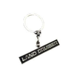 Land Cruiser Black Key Chain / Key Ring | Key Chain Ring For Keys | New Fashion Creative Novelty Gift Keychains