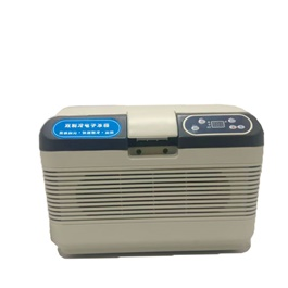 Portable Digital Car Cool Storage Box Fridge Back and White-SehgalMotors.Pk