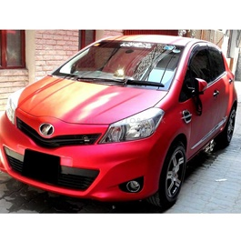 Red Matte Wrap Per Sq Ft | Car Vinyl Wrap Film | Car Wrapping | Vehicle Wrap-SehgalMotors.Pk