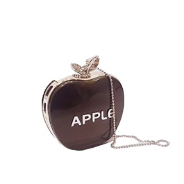 Apple Car Perfume Fragrance Hanging For Inner Rear View Mirror- Mix Color-SehgalMotors.Pk