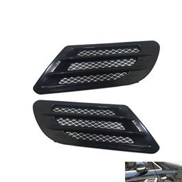 Car Universal Side Air Flow Fender Vents | Car Auto Side Vent Air Flow Fender | Intake Sticker | Car Simulation Side Vents Decorative-SehgalMotors.Pk