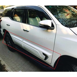 Toyota Fortuner Body Cladding Chrome Thailand 4 Pieces - Model 2016-2020-SehgalMotors.Pk