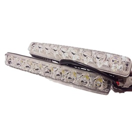 Mark X Style Front LED DRL - pair | Day Time Running Light | Front DRL-SehgalMotors.Pk