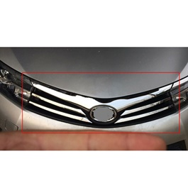 Toyota Corolla Chrome Grille with Clips - Model 2014-2017 MA00873-SehgalMotors.Pk