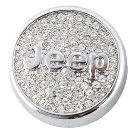 Jeep Logo Grille Perfume | Car Perfume | Fragrance | Air Freshener | Best Car Perfume | Natural Scent | Soft Smell Perfume-SehgalMotors.Pk