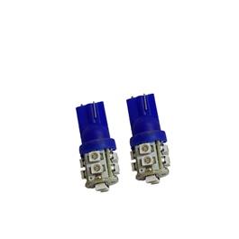Maximus SMD 10 Parking Light Blue - Pair   Led Light Bulb For Parking   SMD Car Exterior Parking Lamps Parking Lights Car Accessories-SehgalMotors.Pk