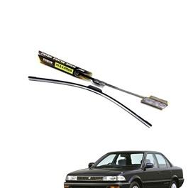 Toyota Corolla 6th Generation Maximus Premium Silicone Wiper Blades - Model 1987-1991-SehgalMotors.Pk