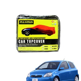 Toyota Vitz Maximus Non Woven Scratchproof Waterproof Top Cover - Model 1998 - 2004	-SehgalMotors.Pk