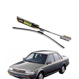 Toyota Corona Maximus Premium Silicone Wiper Blades - Model 1987-1992-SehgalMotors.Pk