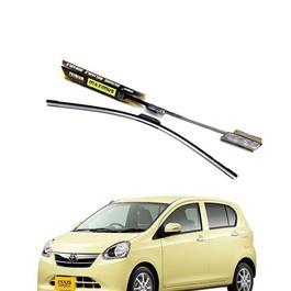 Toyota Pixis Maximus Premium Silicone Wiper Blades - Model 2012-2017-SehgalMotors.Pk