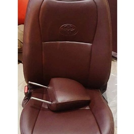 Japanese Leather Type Rexine Seat Covers Brown-SehgalMotors.Pk