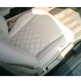 Japanese Leather Type Rexine Seat Covers Beige-SehgalMotors.Pk