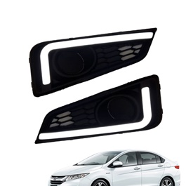 Honda Grace DRL Fog Lamps / Fog Lights Cover - Model 2018-SehgalMotors.Pk