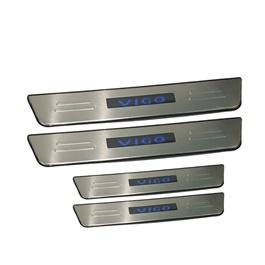 Toyota Hilux Vigo Sill Plates / Skuff LED panels - Model 2005-2016-SehgalMotors.Pk