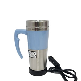 Premium Heated Car Electric Kettle Cup-SehgalMotors.Pk