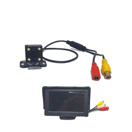 Maximus Reverse Moving CameraWith TFT LCD | Rear View Reverse Parking Camera For Android DVD Monitor Car Intelligent Dynamic Trajectory Moving Guide Parking Line-SehgalMotors.Pk