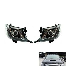 Toyota Hilux Vigo Angel Eye Headlight / Head Lamp - Model 2005-2016-SehgalMotors.Pk