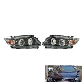 Toyota Corolla V4 Headlight / Head Lamp - Model 2008-2012-SehgalMotors.Pk