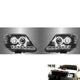Toyota Hilux Vigo Projection Headlight / Head Lamp - Model 2005-2012-SehgalMotors.Pk