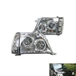 Toyota Land Cruiser FJ90 Modified Headlight / Head Lamp - Model 1998-2007-SehgalMotors.Pk