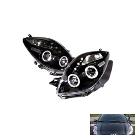 Toyota Vitz Projection Headlight / Head Lamp - Model 2004-2011-SehgalMotors.Pk