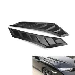 Honda Civic 3D Hood Air Flow Vent Pair - Model 2016-2020-SehgalMotors.Pk