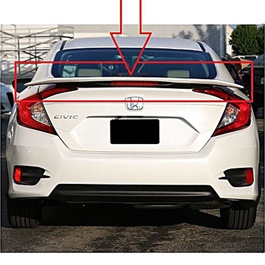 Honda Civic SI Spoiler American Style With Reflector - Model 2016-2020-SehgalMotors.Pk