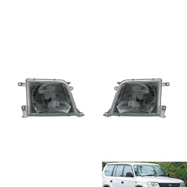 Toyota Land Cruiser Prado Headlight / Head Lamp - Model 1996-2002-SehgalMotors.Pk