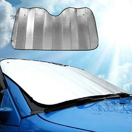 Car Front Screen Foil Sunshade / Sun Shade Universal | UV Protection | Sunlight Rejection