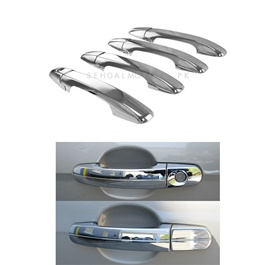 Toyota Corolla Electroplated Chrome Handle Covers - Model 2014-2017