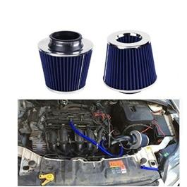 Simota Cold Air Intake Filter Blue - Universal | Universal Car Air Filter Vehicle Induction High Power Mesh | Auto Cold Air Hood Intake-SehgalMotors.Pk