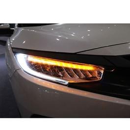 Honda Civic Sequential LED Headlights / Head Lamps Pair- Model 2016-2020-SehgalMotors.Pk