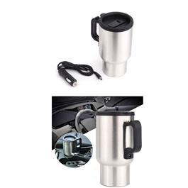 Electric Smart Mug 12V Car Electric Kettle Heated Mug-SehgalMotors.Pk