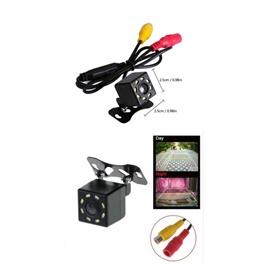 Universal 8 LED Round Back Camera | Rear Camera Parking Camera | Reverse Parking Camera | Security Camera-SehgalMotors.Pk