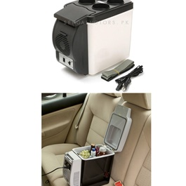 Car Portable Fridge Cool Box 6 Liters - Code 14096-SehgalMotors.Pk