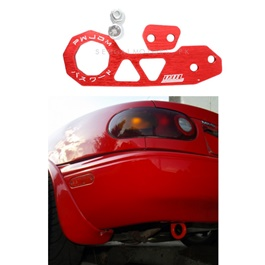 Password JDM Rear Tow Hook - Red  | Towing Hook | Tow Hook  For Car | Modification Drift Decoration