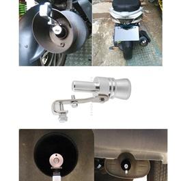 Car Exhaust Turbo Whistler Medium | | Turbo Bov Whistle Sound Muffler Exhaust Pipe Tip Insert Whistler | Fake Blow-off Simulator Whistler Vehicles Auto Accessories | Car Turbo Sound Exhaust Muffler Pipe Whistle -SehgalMotors.Pk