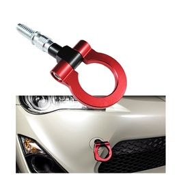 Password JDM Front Tow Hook - Red   Towing Hook Universal Front Tow Hook Bar Front -SehgalMotors.Pk
