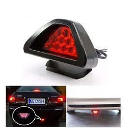 F1 Style Third Brake Lamp With High Visibility | Under Diffuser / Bumper Red LED Sporty Style -SehgalMotors.Pk