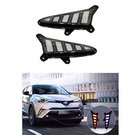 Toyota CHR Front LED DRL Tail Style - Model 2017-2019	-SehgalMotors.Pk